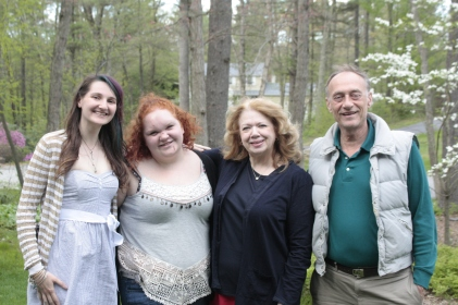 Alyssa, Alexie, Melinda and Jim