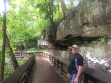 Boardwalk to Brandywine Falls