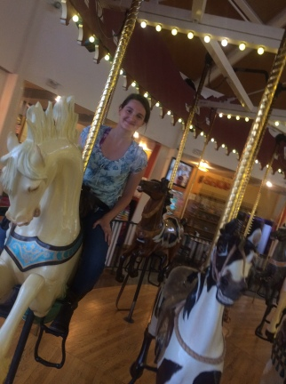 Alyssa on another horse