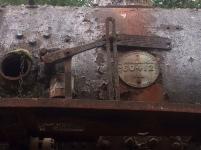 Beautiful rusty old train
