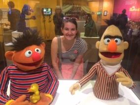 Ernie, Alyssa, and Bert