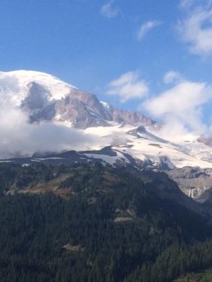 Mt. Rainier peaks