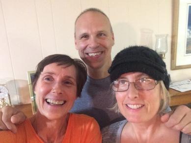 Lisa, Cliff, and Kim reunited