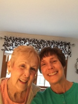 Mom and Lisa together again