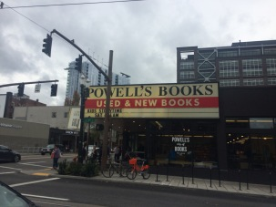 We visited Powell's Bookstore a few times