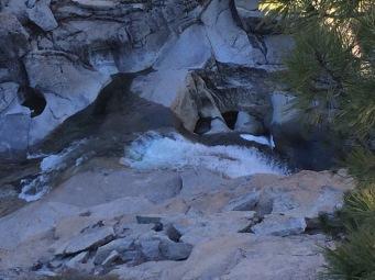 Top view of Yosemite Falls