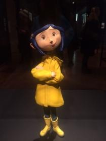 Portland Art Museum exhibit of Laika's Coraline character