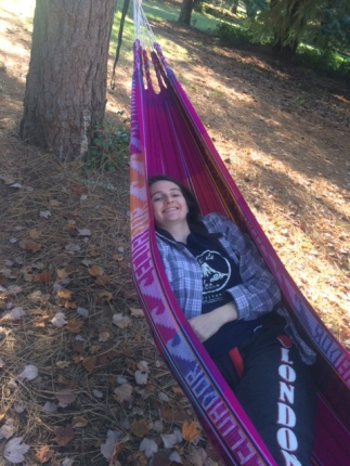 Finally a campsite with hammock trees