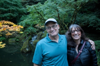 Bob and Dolly at Portland Japanese Garden
