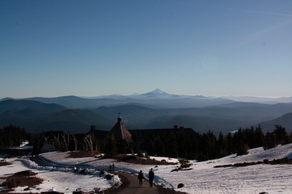 Mt. Hood's Lodge and view